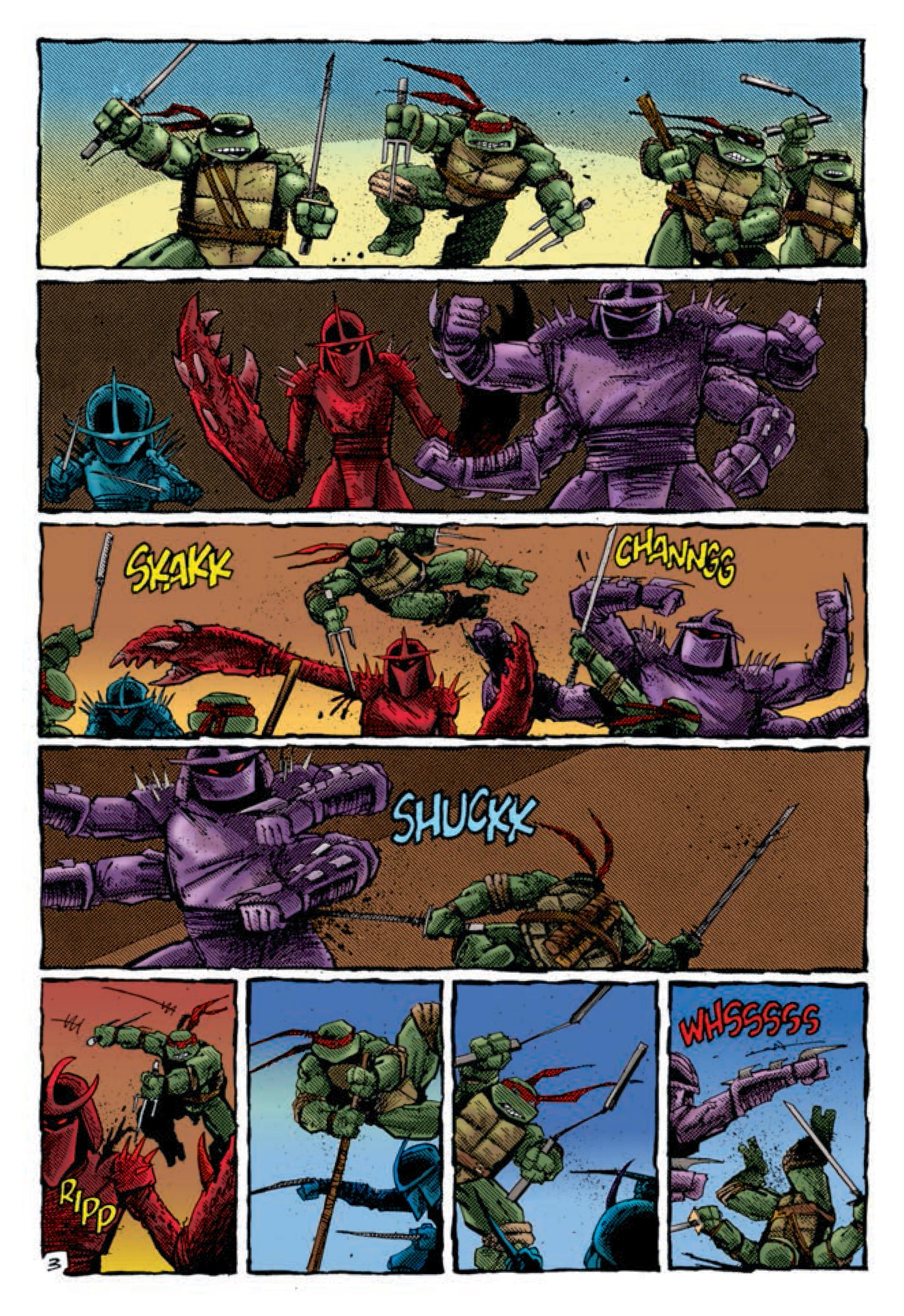 eastman & lairds teenage mutant ninja turtles volume 3 review