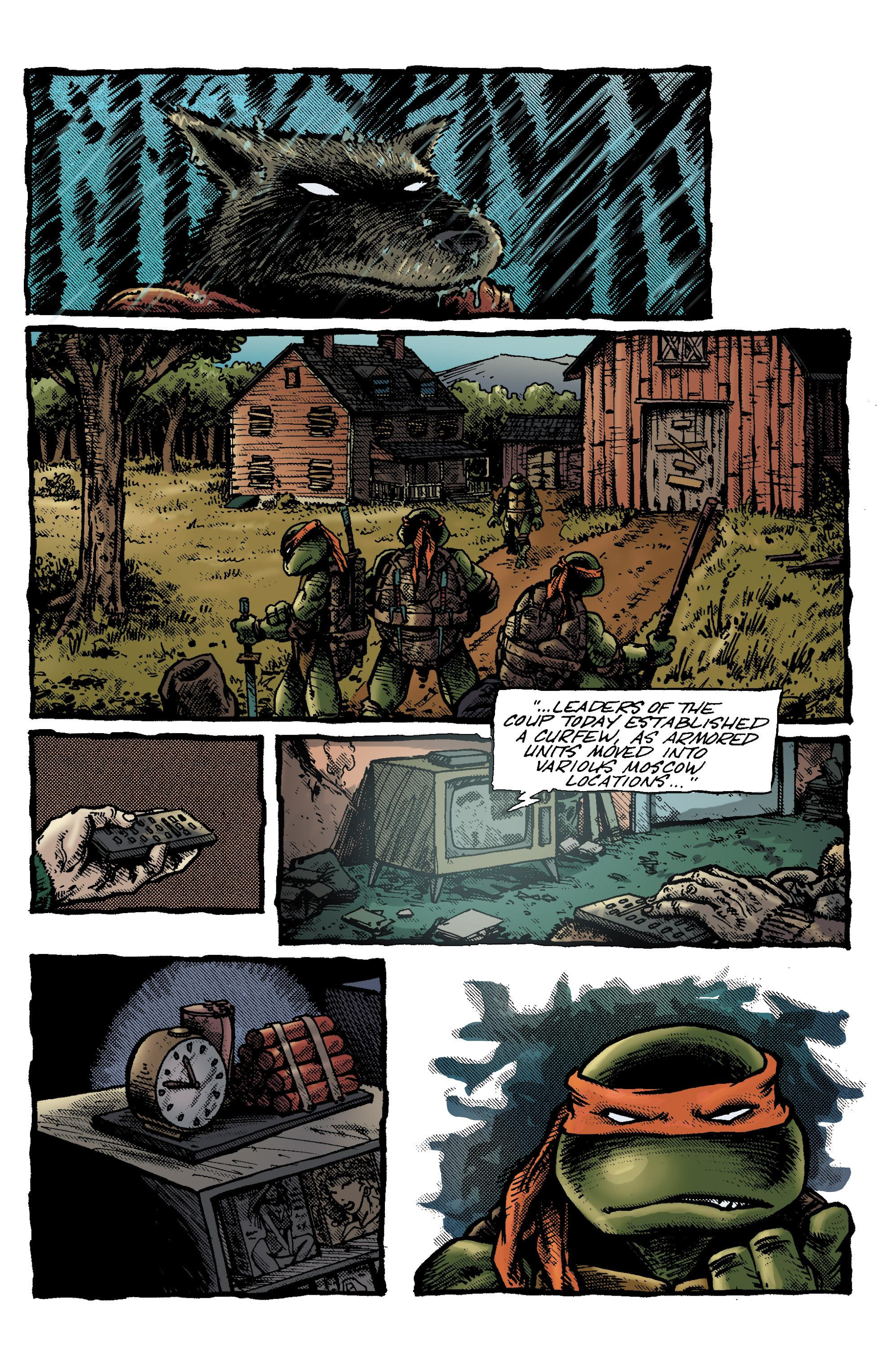 Eastman & Laird's Teenage Mutant Ninja Turtles The Works Volume 4 Review
