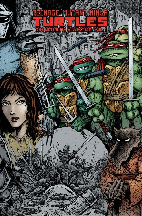 Eastman and Laird's Teenage Mutant Ninja Turtles: Ultimate Black & White Collection/The Works Vol. 1