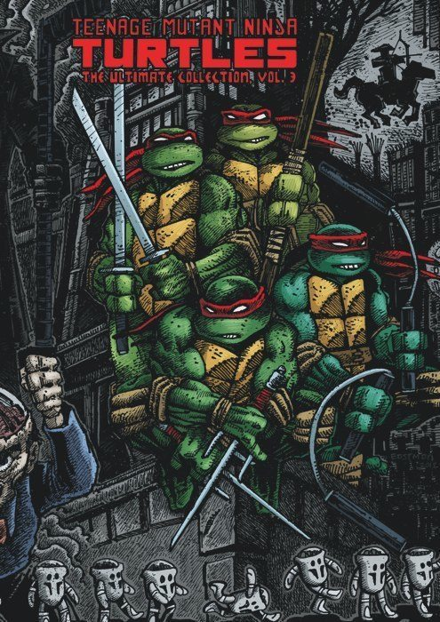 Eastman and Laird's Teenage Mutant Ninja Turtles: Ultimate Black & White Collection/The Works Vol. 3