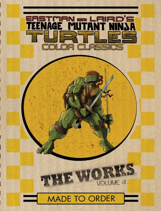 Eastman and Laird's Teenage Mutant Ninja Turtles: Ultimate Black & White Collection/The Works Vol. 4