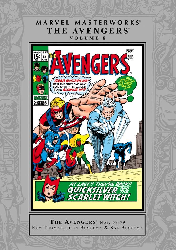Marvel Masterworks: The Avengers Volume 8