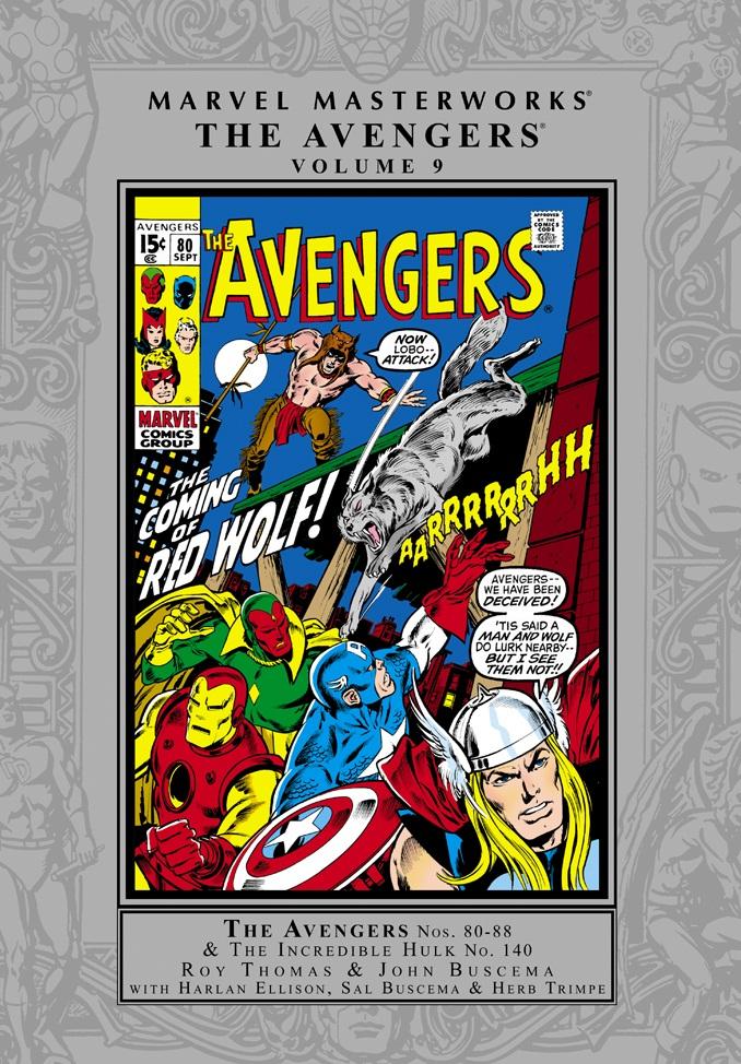 Marvel Masterworks: The Avengers Volume 9