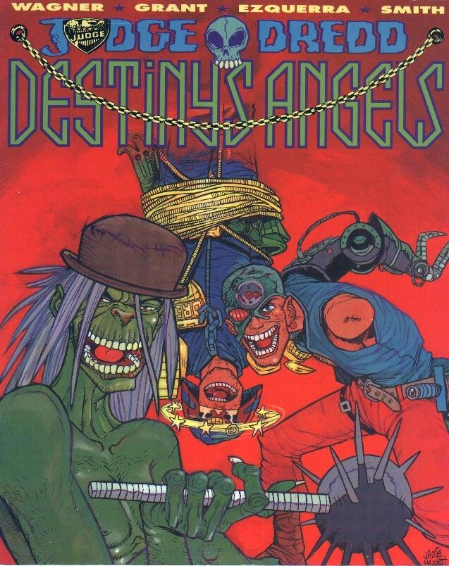 Judge Dredd: Destiny's Angels