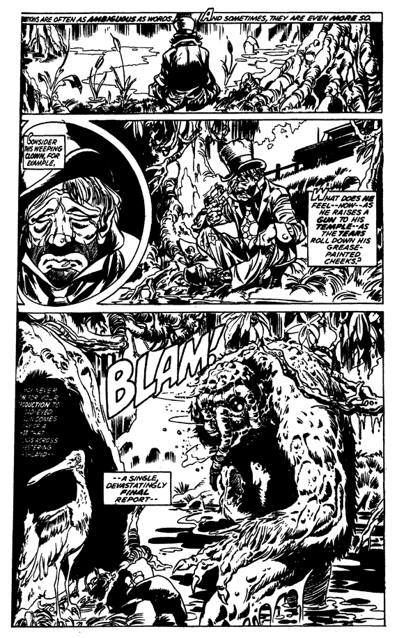 Essential Man-Thing vol 1 review