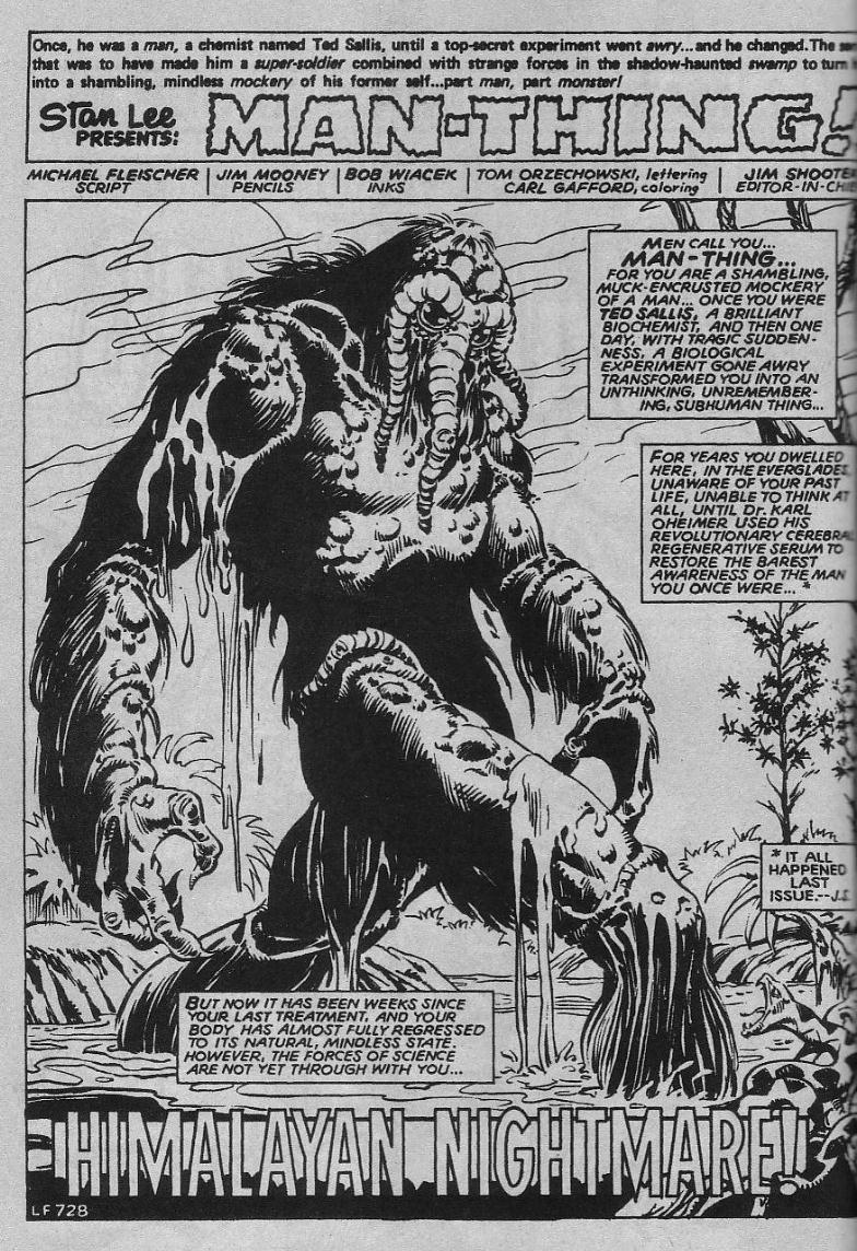 Essential Man-Thing vol 2 review