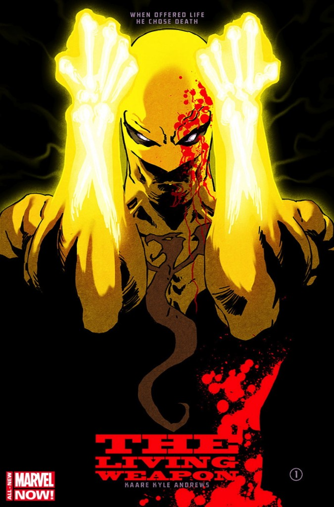 Iron Fist, The Living Weapon Vol. 1: Rage