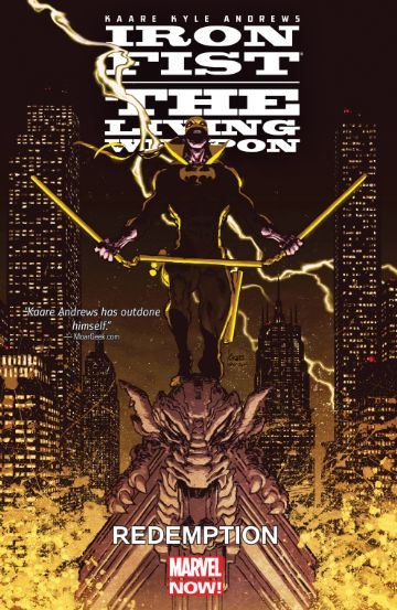 Iron Fist, The Living Weapon Vol. 2: Redemption