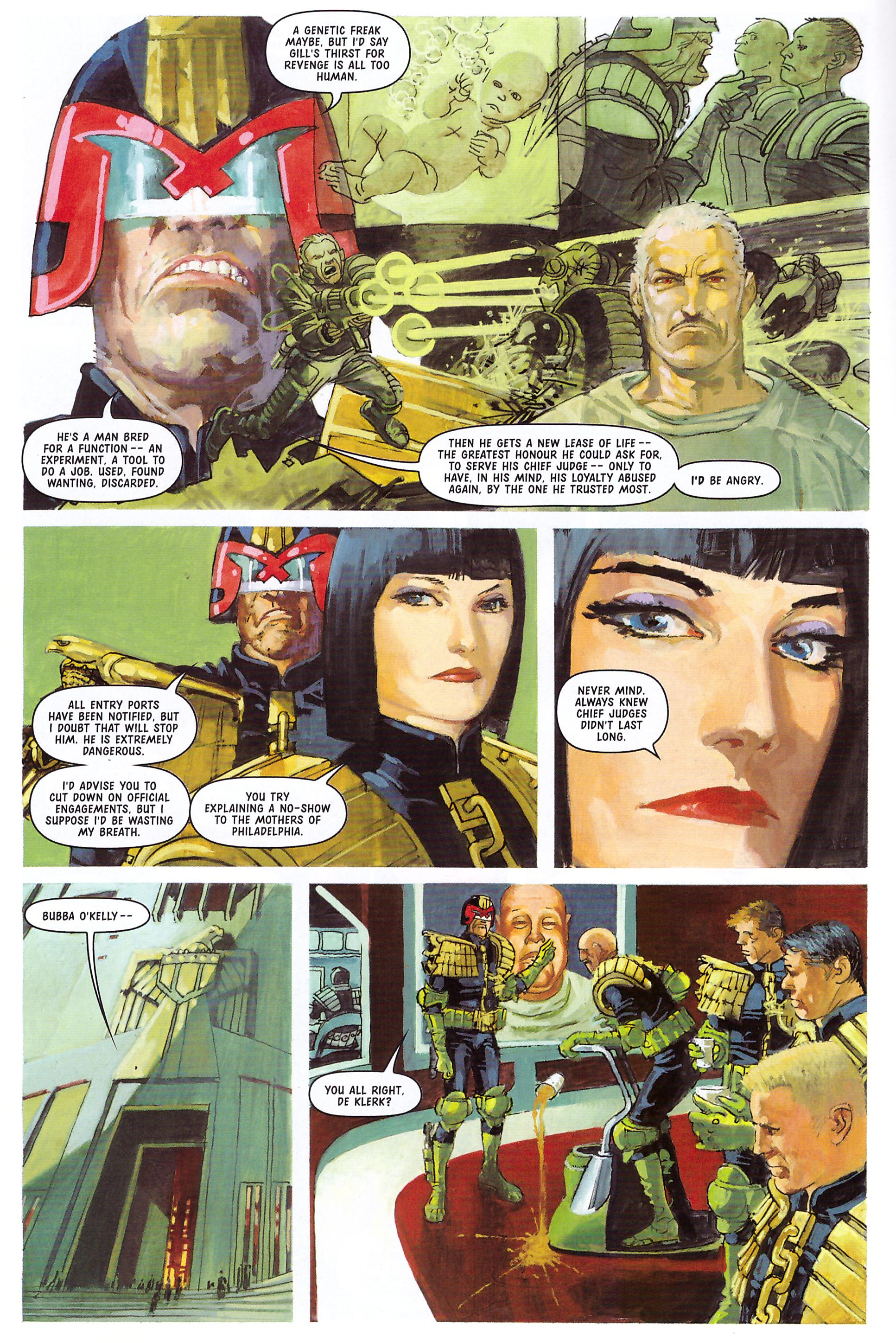 Judge Dredd The Chief Judge's Man review
