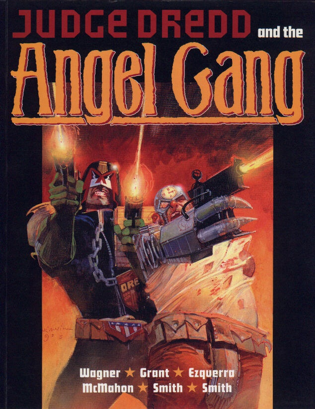 Judge Dredd and the Angel Gang