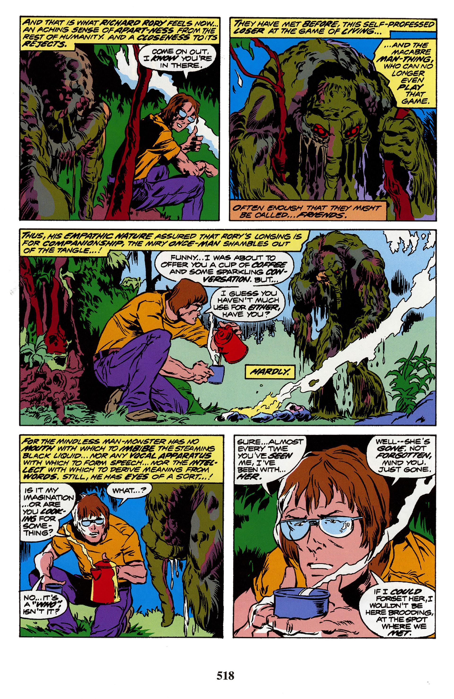 Man-Thing by Steve Gerber review