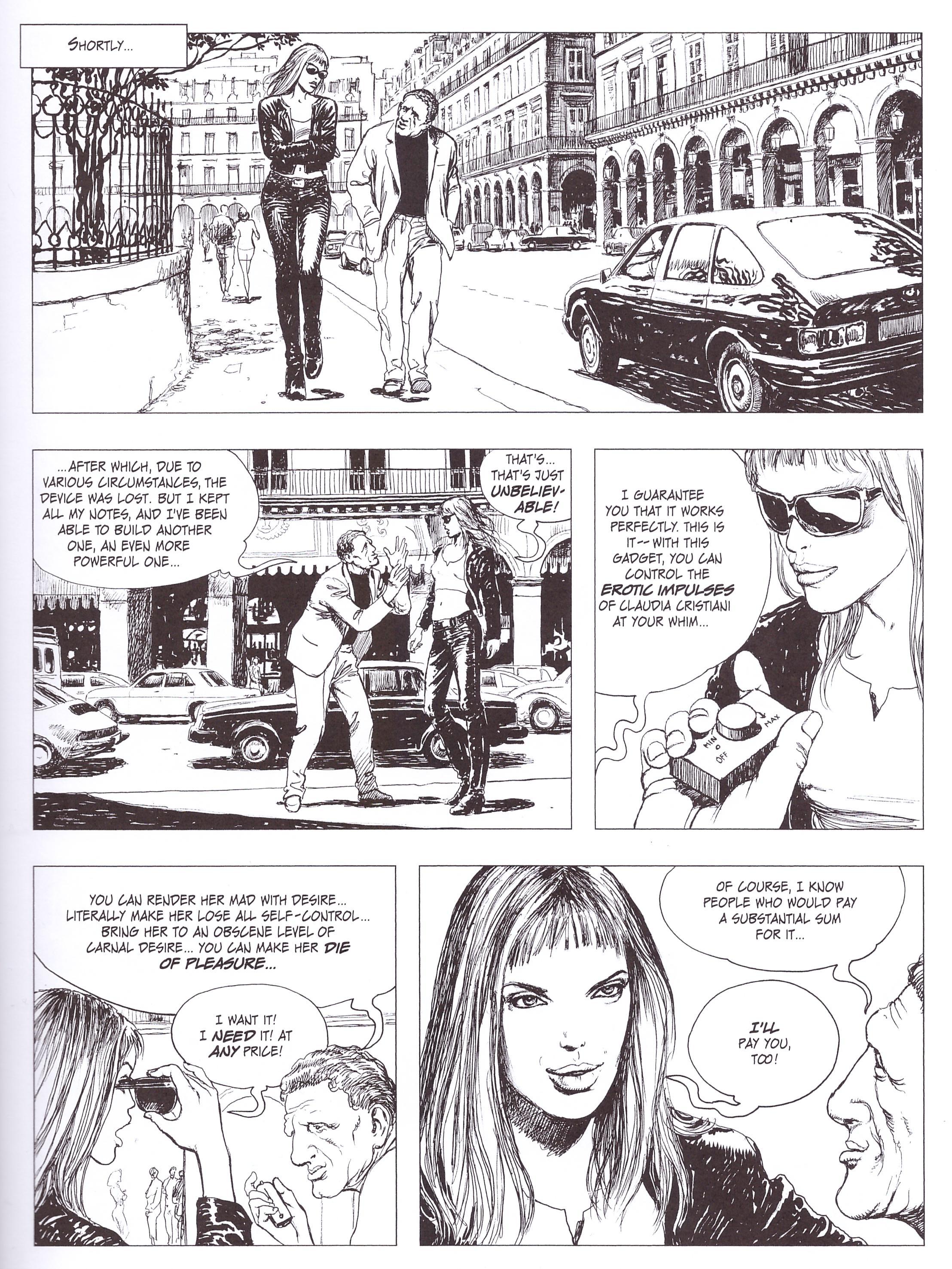 Manara Erotica Volume 1 graphic novel review