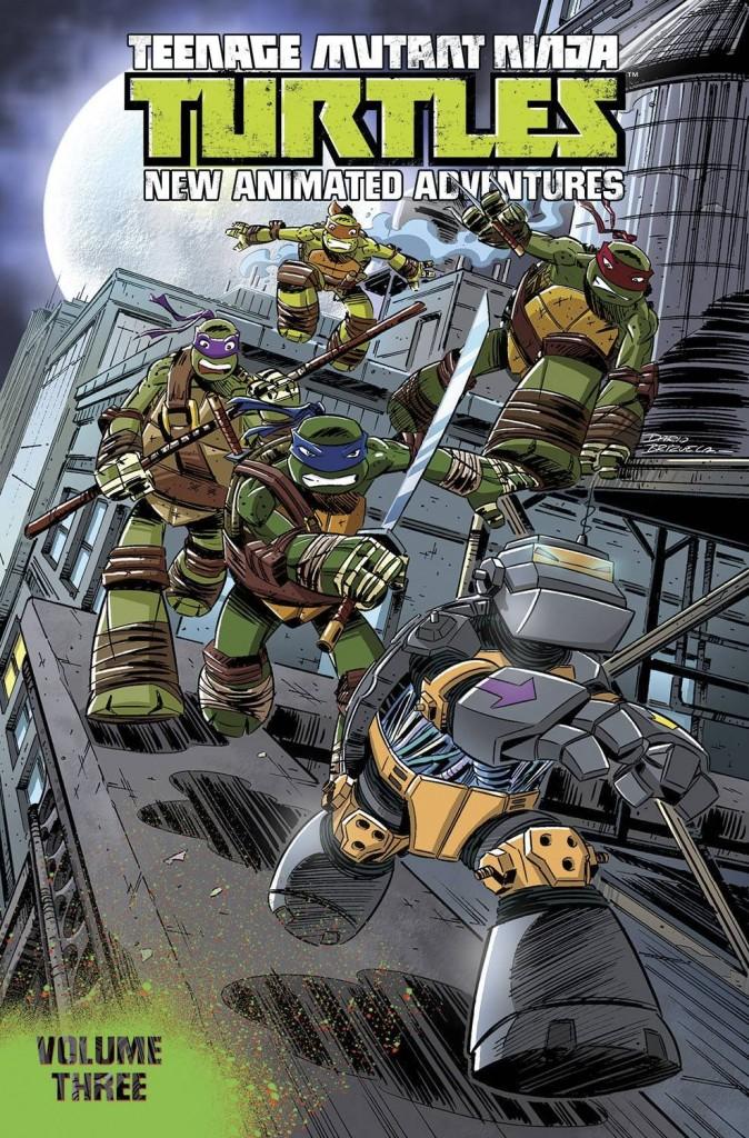 Teenage Mutant Ninja Turtles New Animated Adventures Volume Three