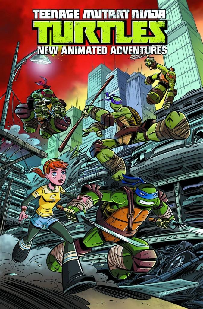 Teenage Mutant Ninja Turtles New Animated Adventures Volume One