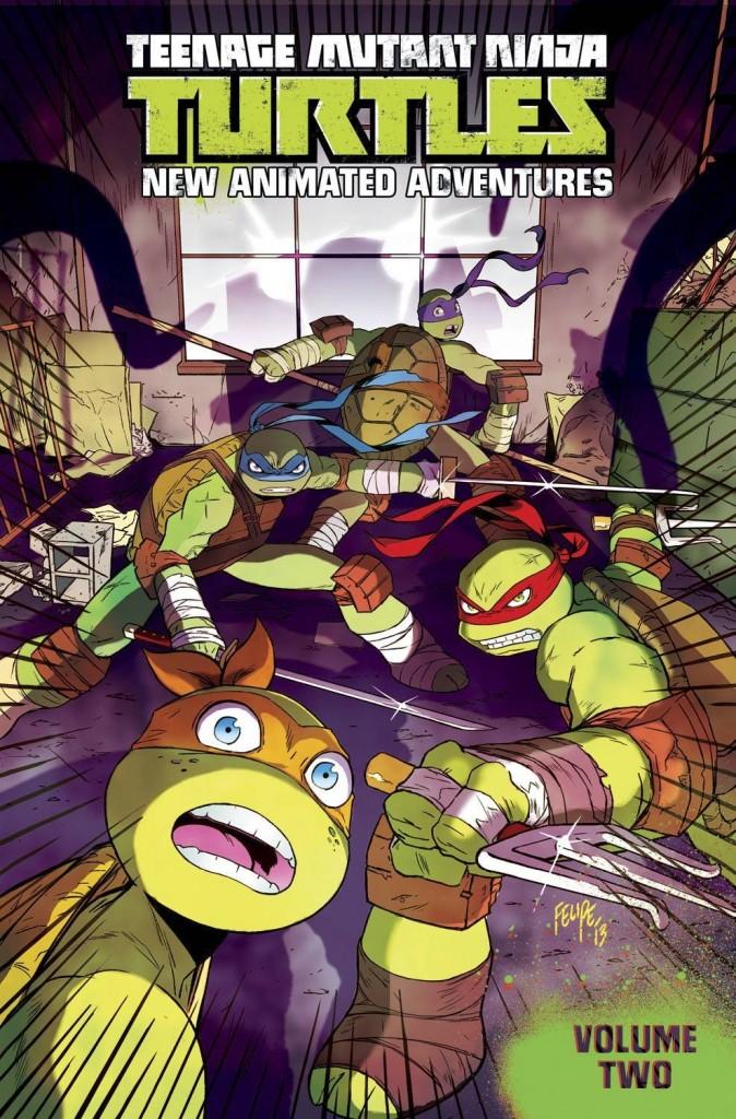 Teenage Mutant Ninja Turtles New Animated Adventures Volume Two