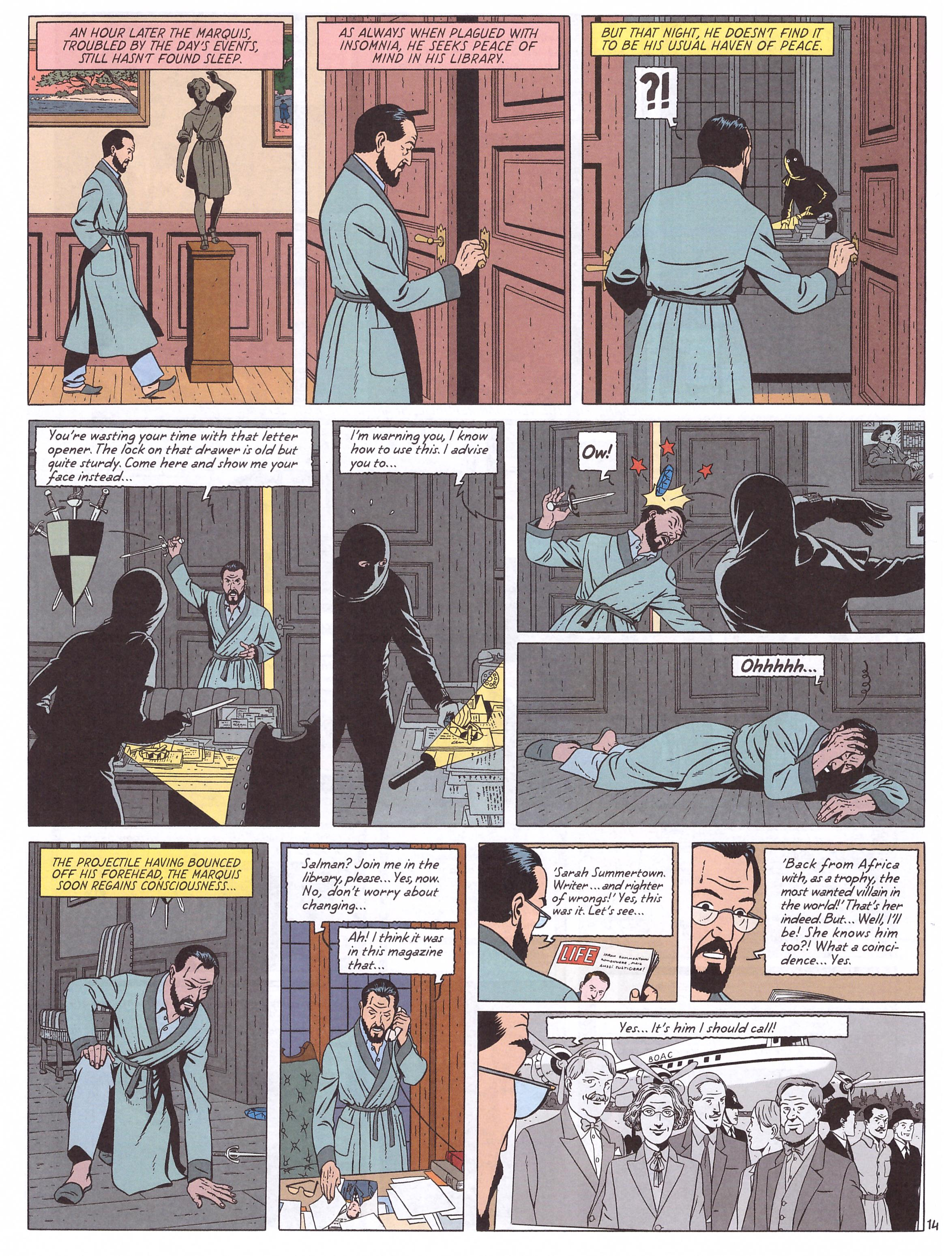 Blake and Mortimer The Testament of William S review