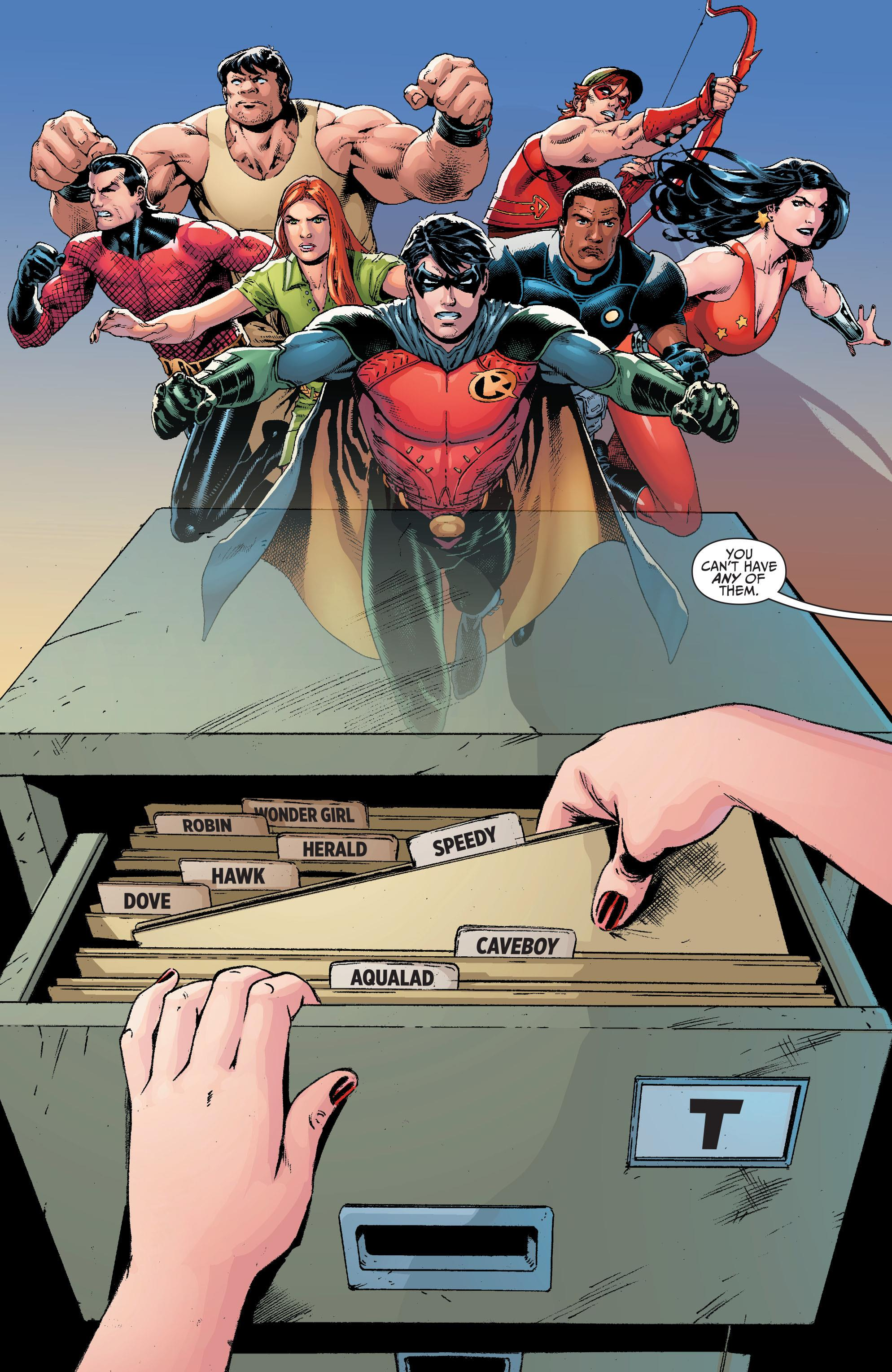 Titans Hunt graphic novel review
