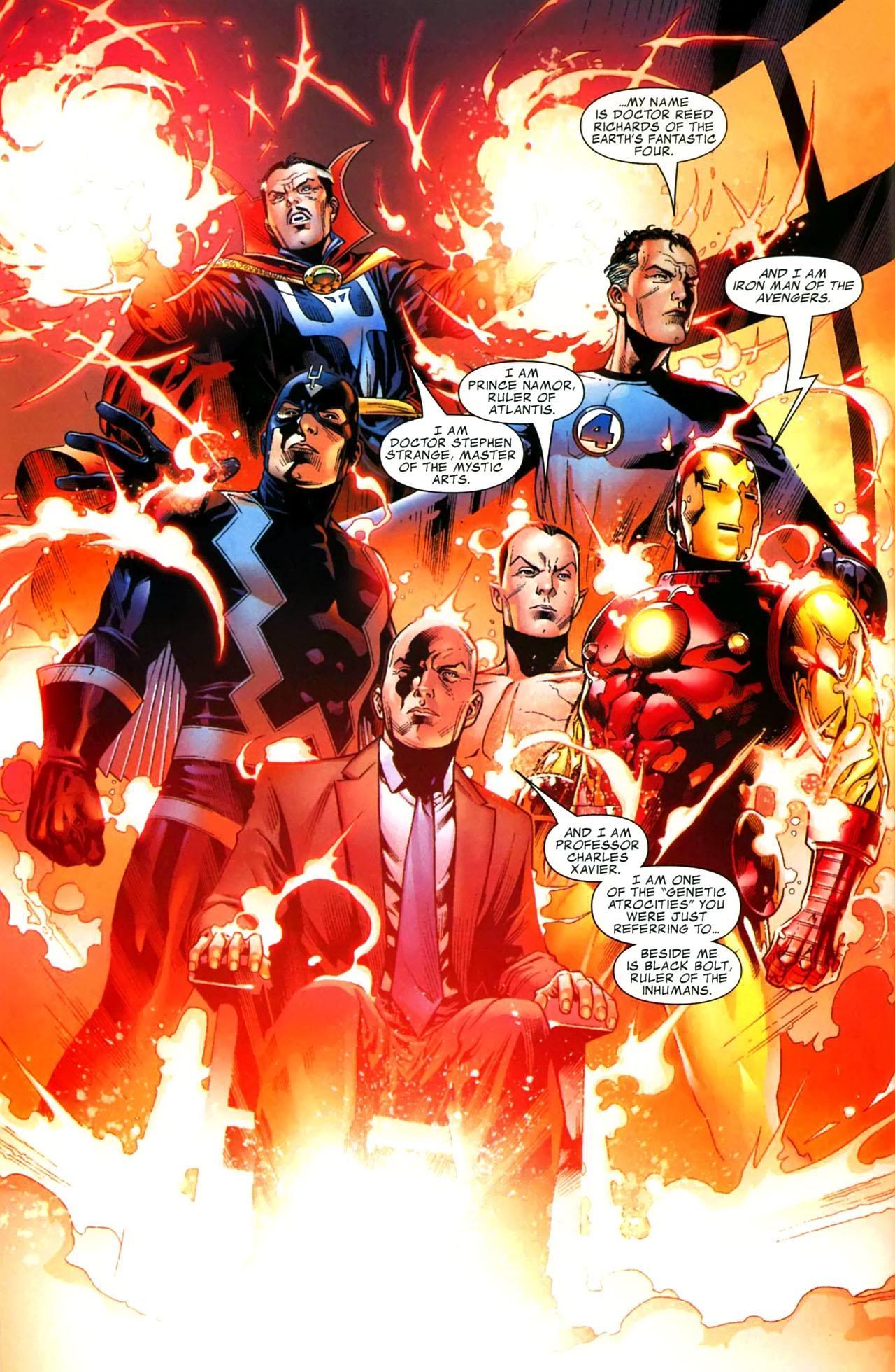 New Avengers Illuminati review