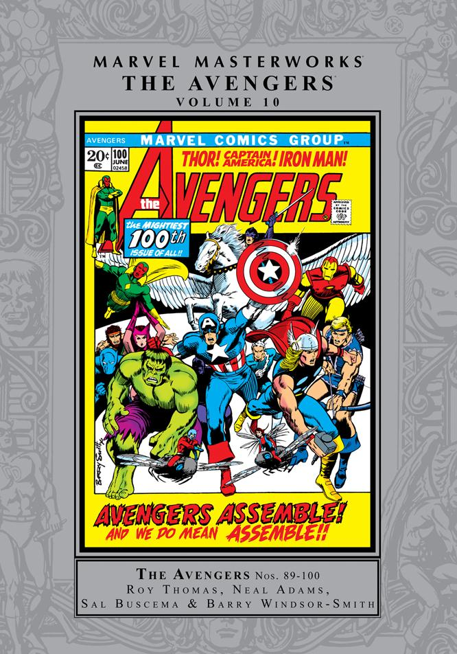 Marvel Masterworks: The Avengers Volume 10