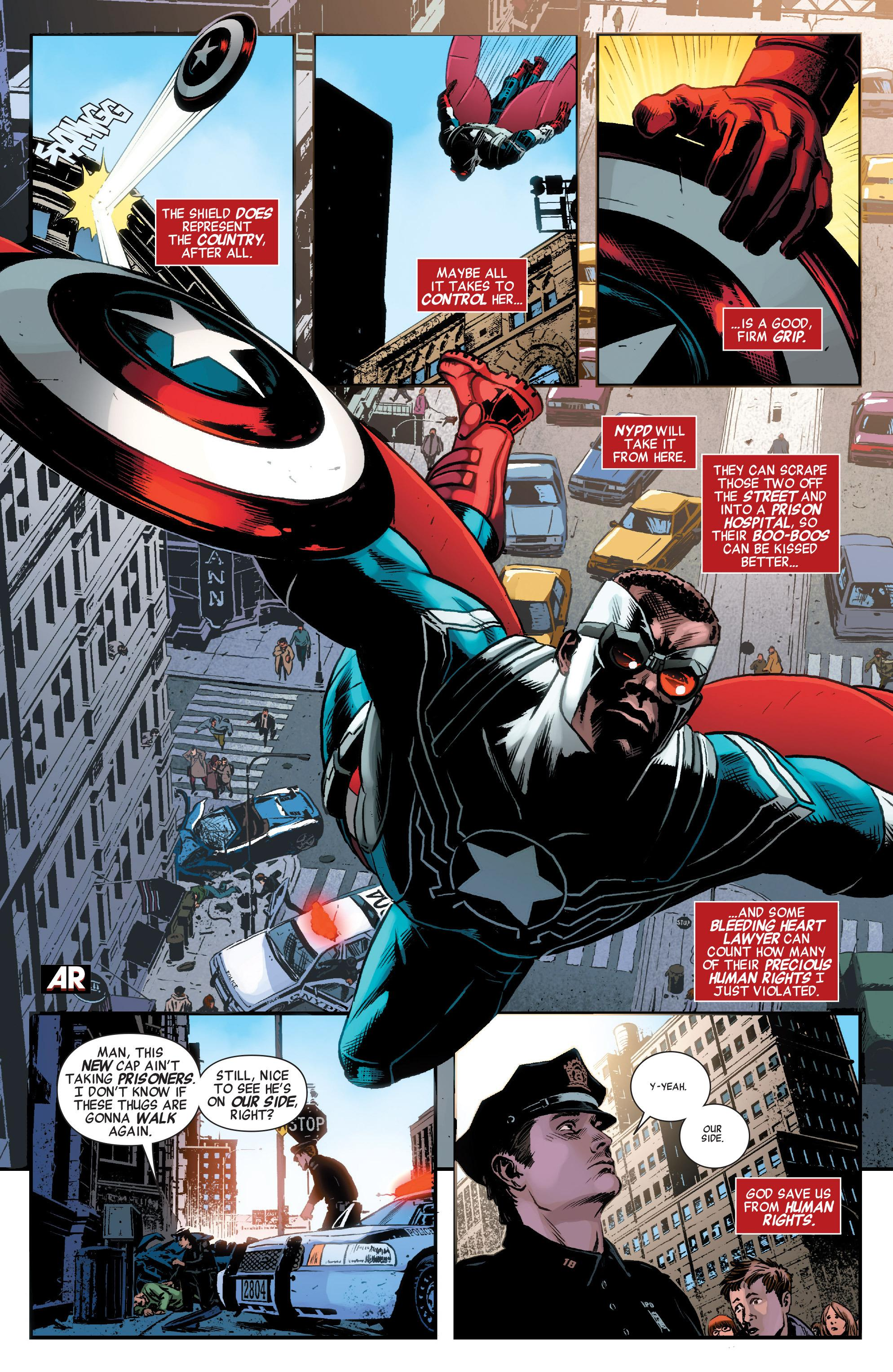 Captain America and the Mighty Avengers Open For Business review