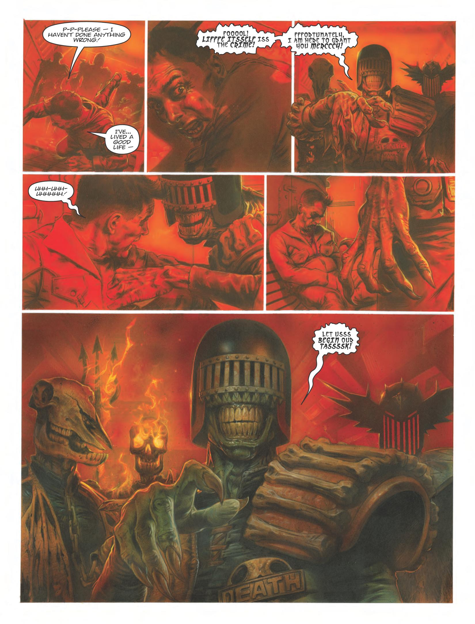 Judge Dredd Dark Justice review