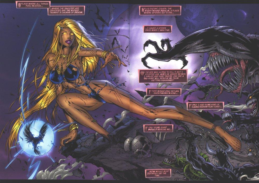 Darkchylde graphic novel review