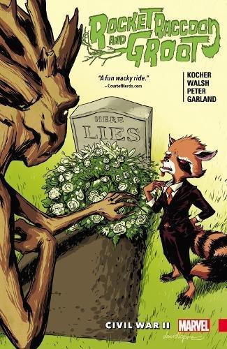 Rocket Raccoon and Groot: Civil War II