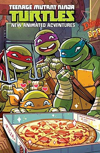 Teenage Mutant Ninja Turtles New Animated Adventures Omnibus Volume Two