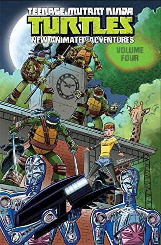 Teenage Mutant Ninja Turtles New Animated Adventures Volume Four