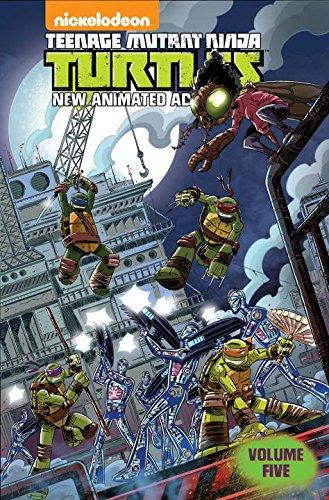 Teenage Mutant Ninja Turtles New Animated Adventures Volume Five