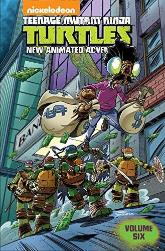 Teenage Mutant Ninja Turtles New Animated Adventures Volume Six