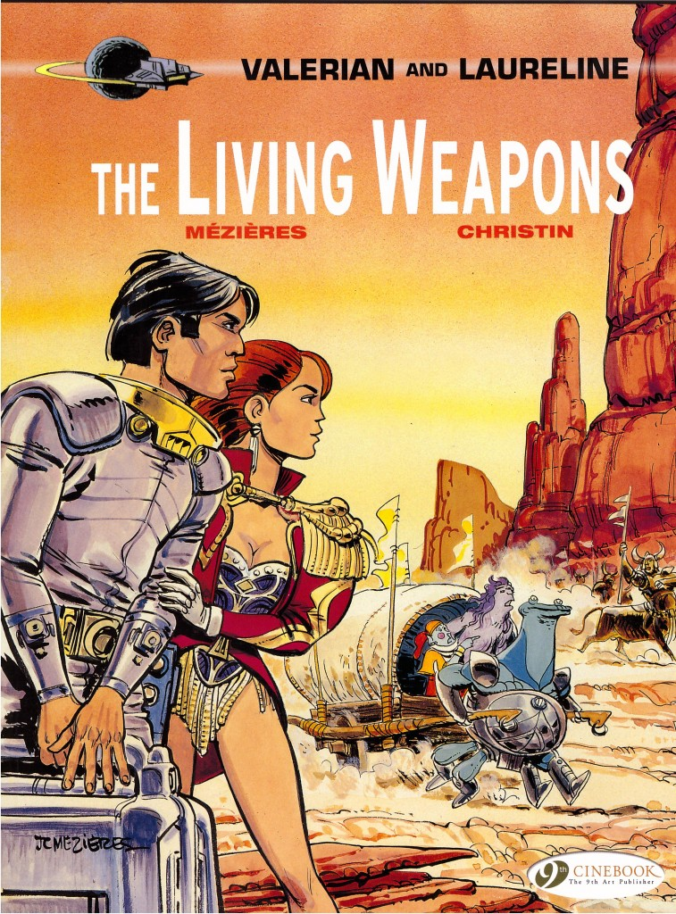 Valerian and Laureline: The Living Weapons