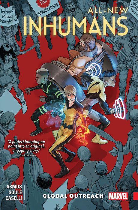 All-New Inhumans: Global Outreach