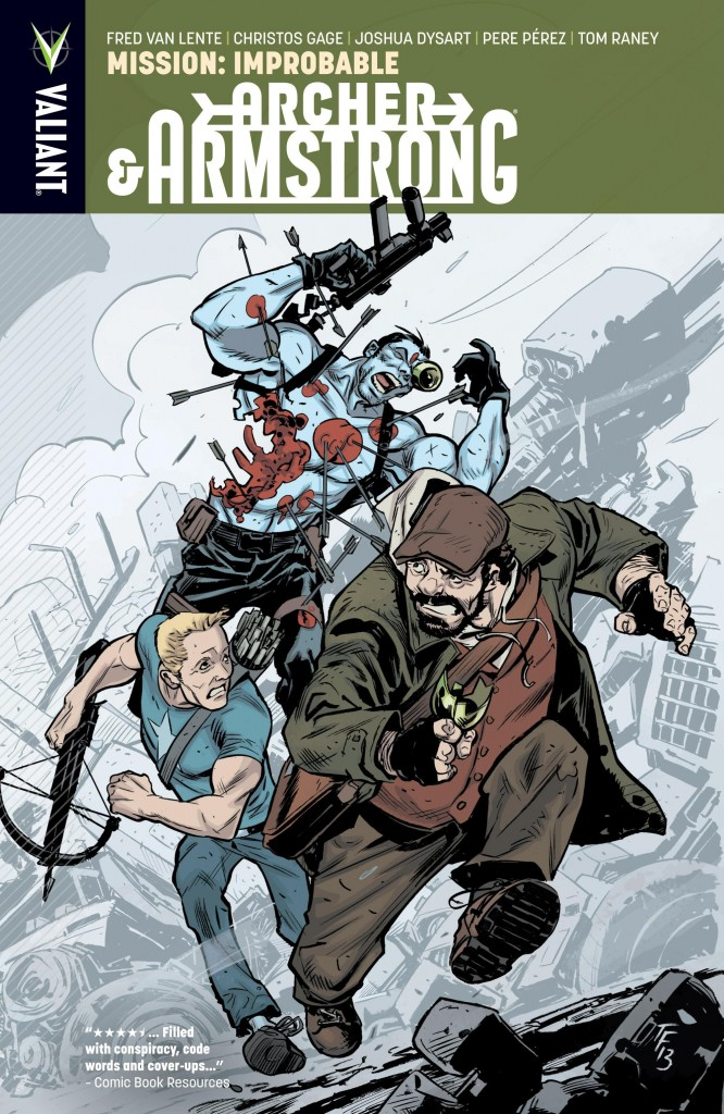 Archer & Armstrong: Mission: Improbable