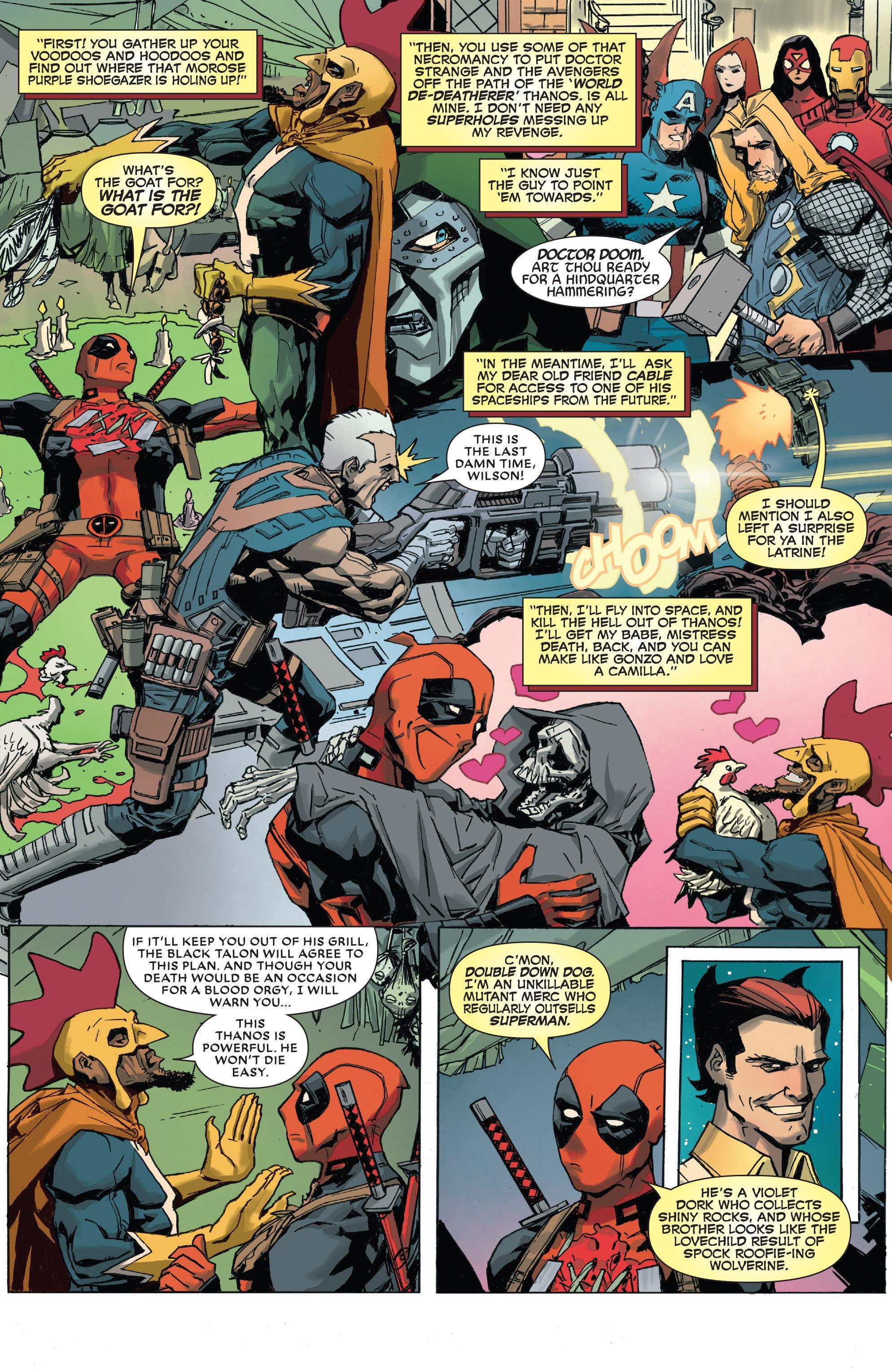 Deadpool vs. Thanos review
