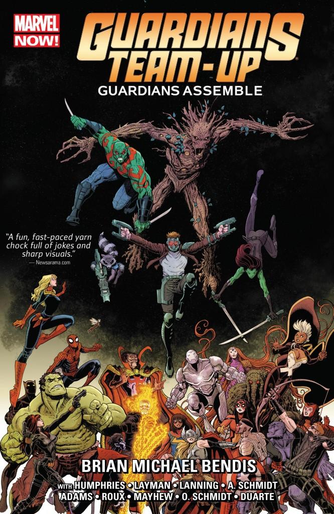 Guardians Team-Up Vol. 1: Guardians Assemble!