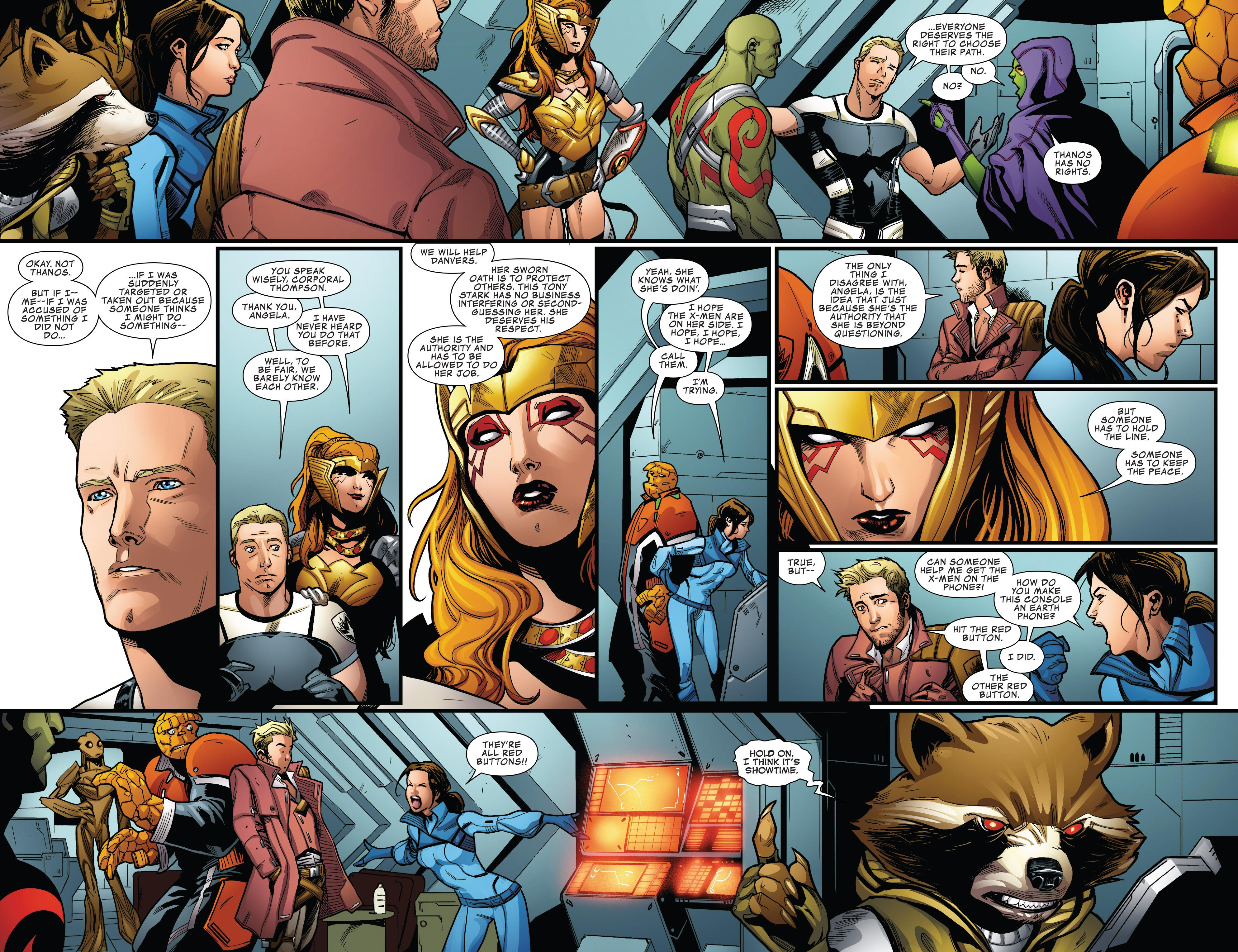 Guardians of the Galaxy Civil War II review