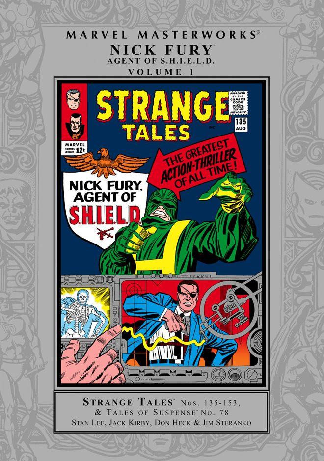 Marvel Masterworks: Nick Fury, Agent of S.H.I.E.L.D. Vol. 2
