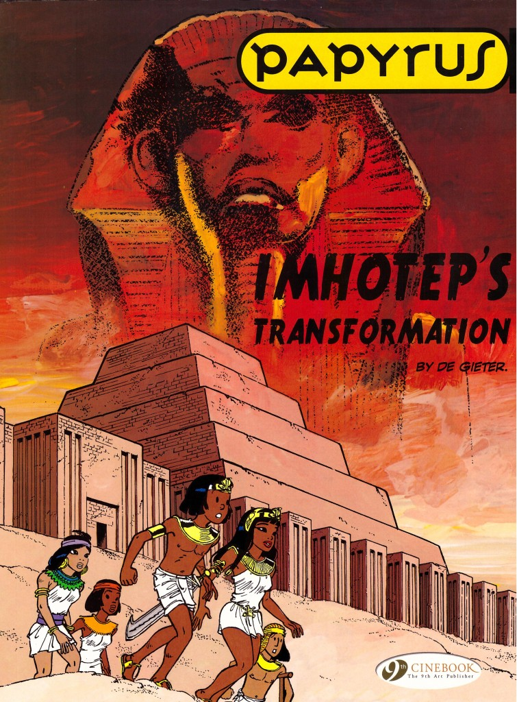 Papyrus: Imhotep's Transformation