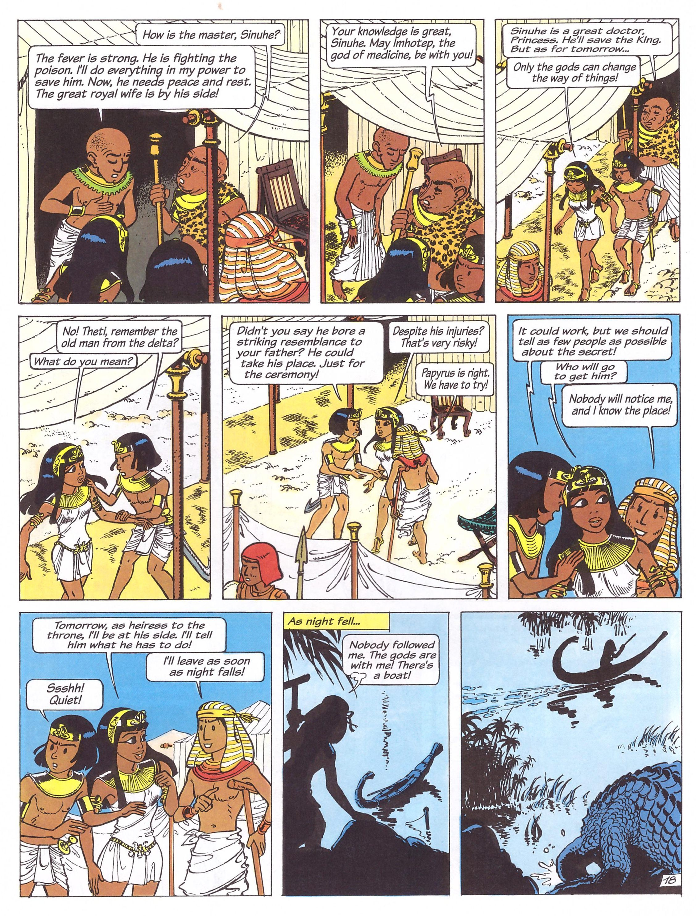 Papyrus Imhotep's Transformation review