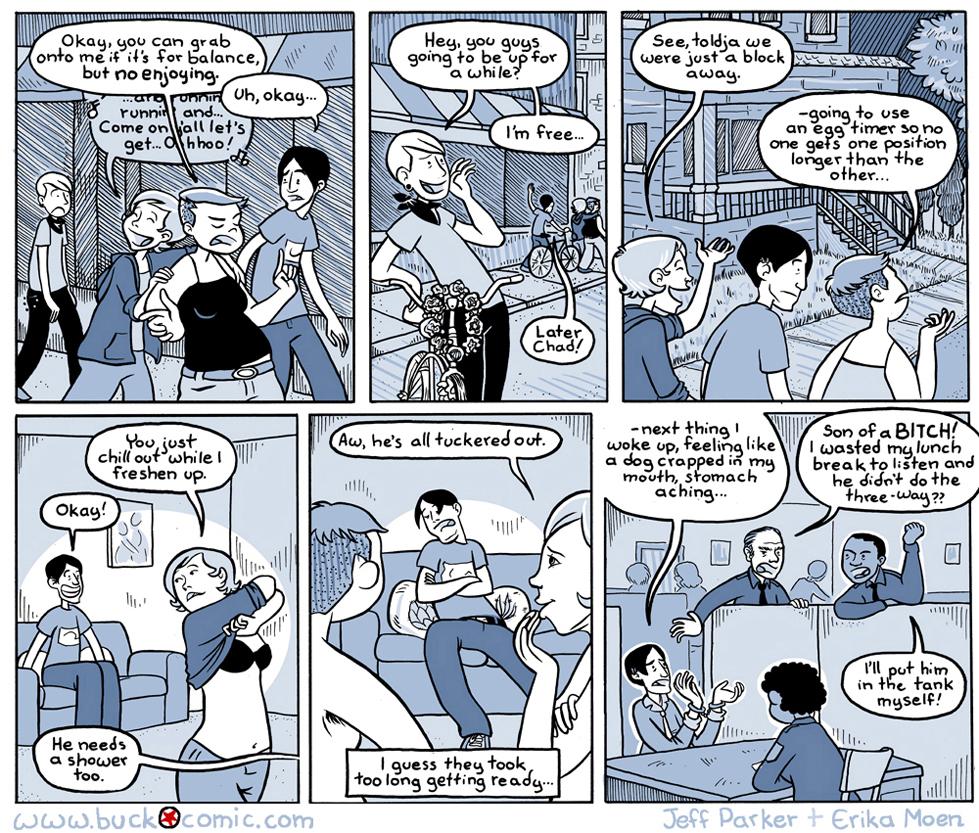Bucko graphic novel review