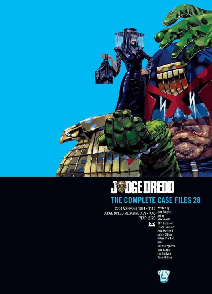 Judge Dredd: The Complete Case Files 28