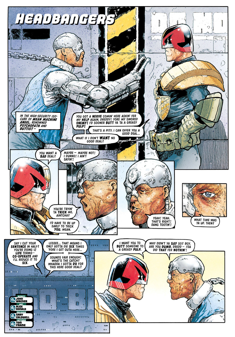 Judge Dredd Case Files 28 Review