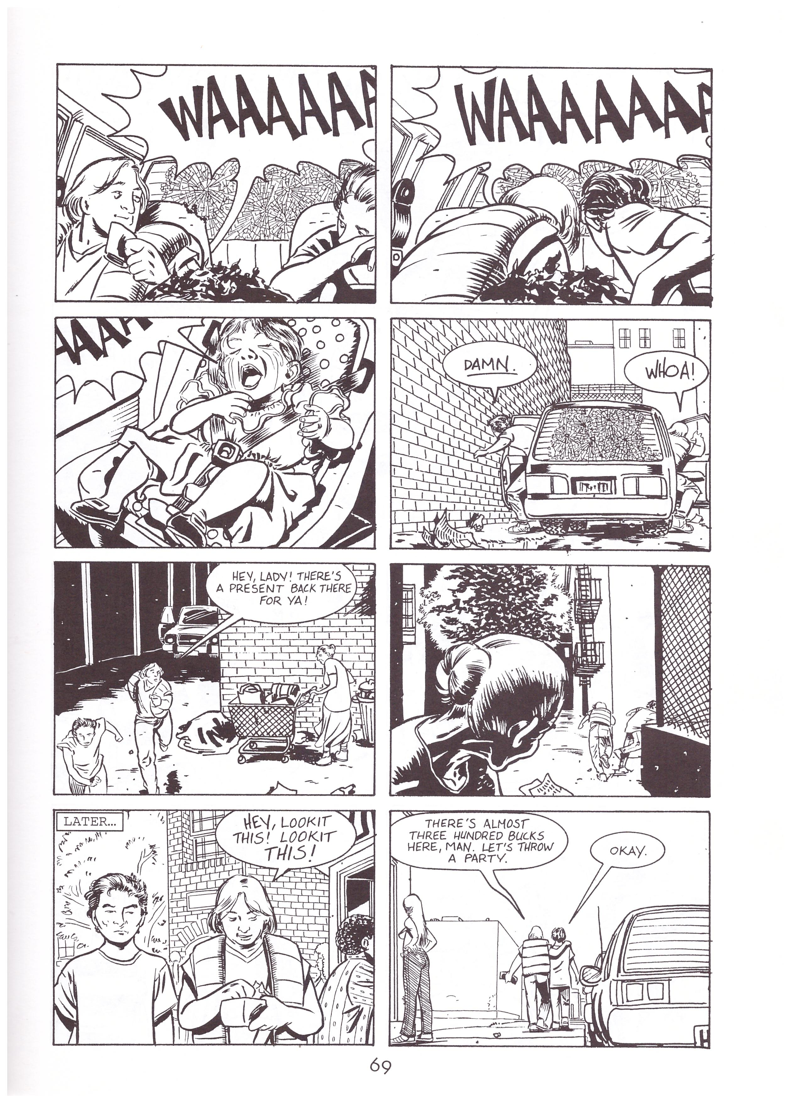 Stray Bullets Innocence of Nihilism review