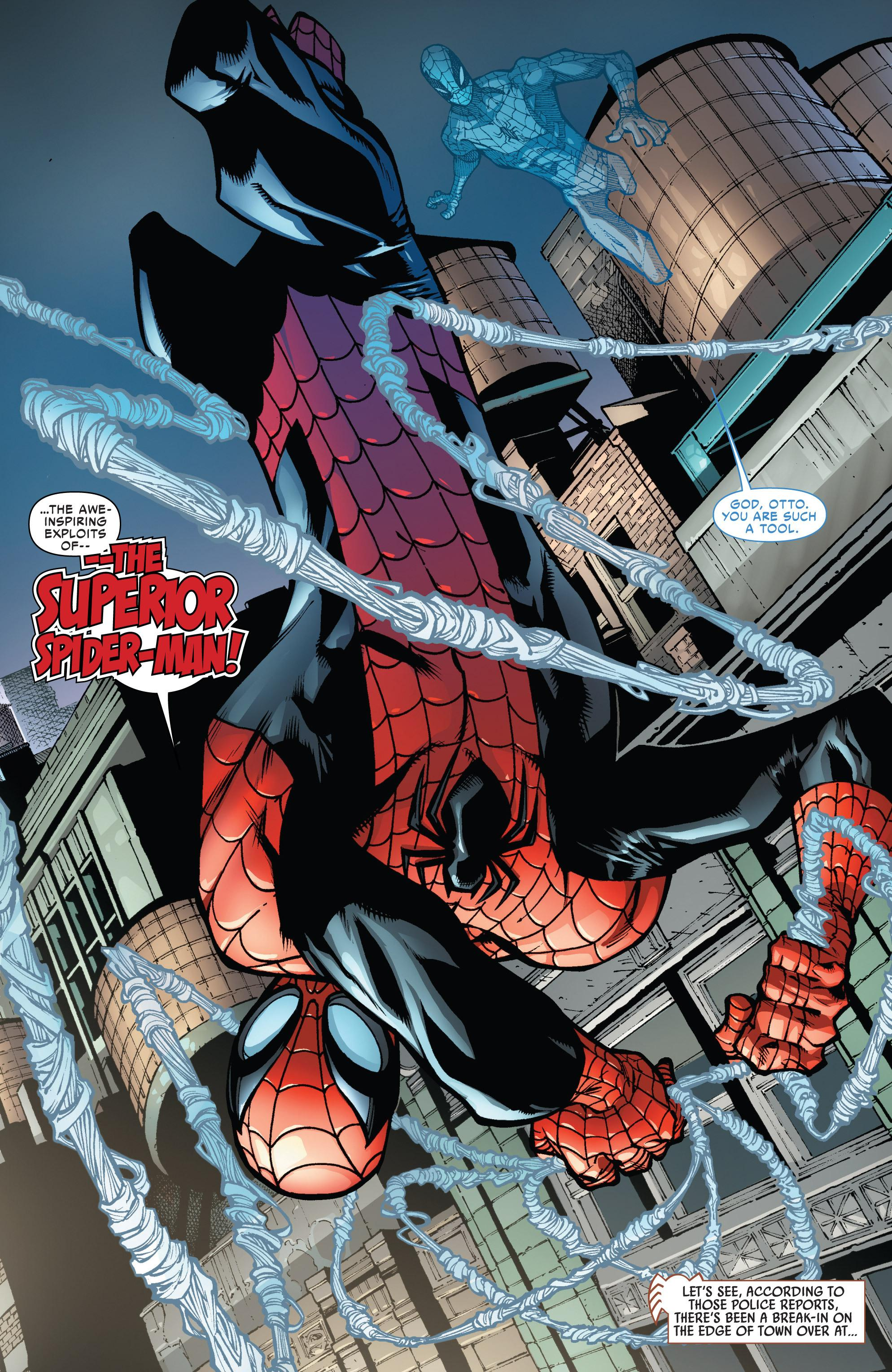 The Superior Spider-Man A Troubled Mind review