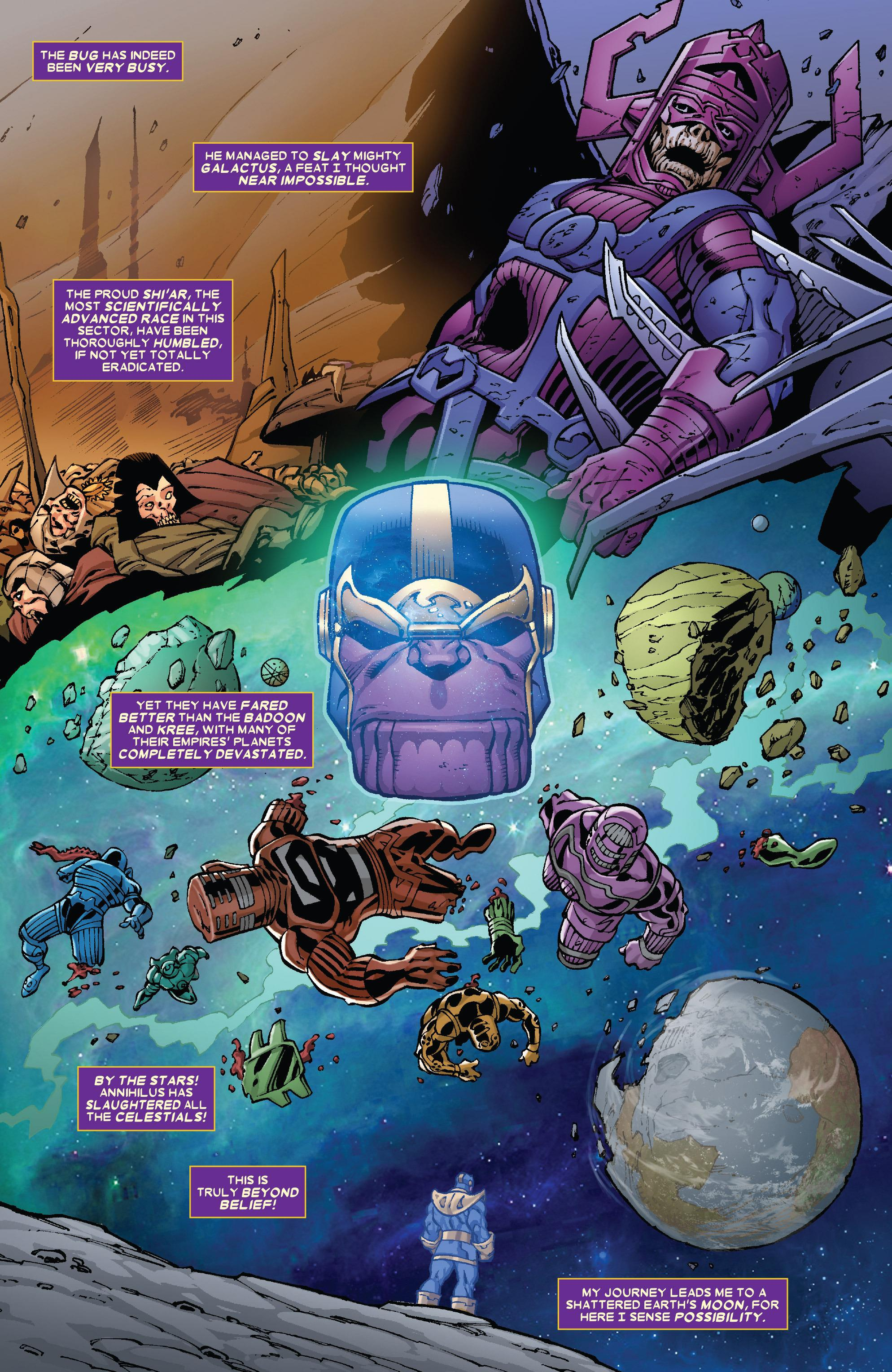 Thanos - The Infinity Finale review