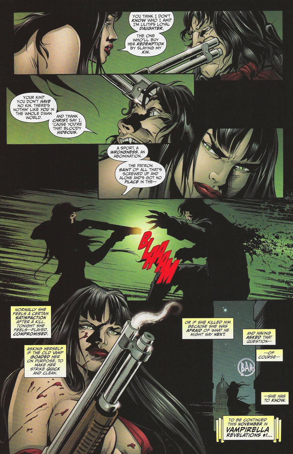 Vampirella Masters 8 Mike Carey review