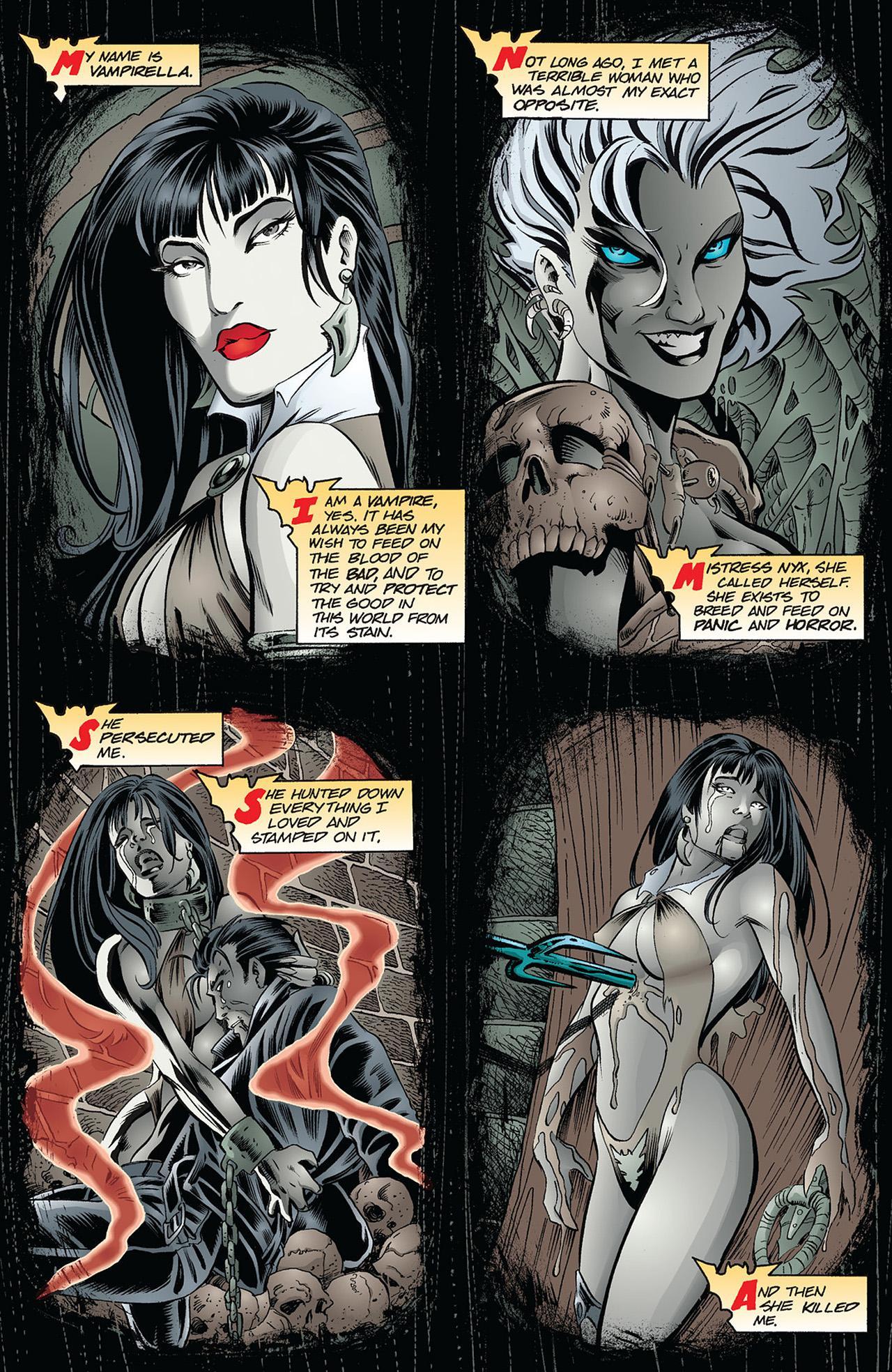Vampirella Masters Vol 2 Warren Ellis review