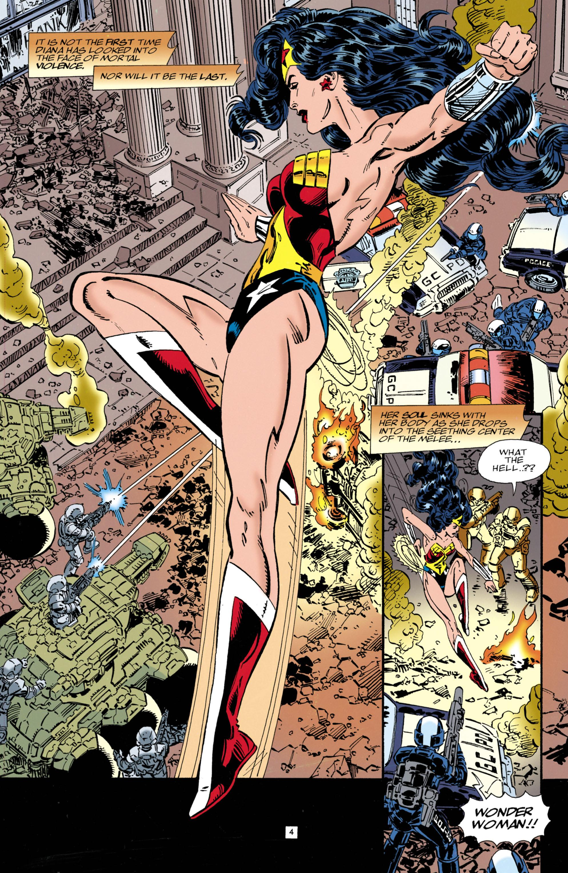 Wonder Woman Second Genesis review