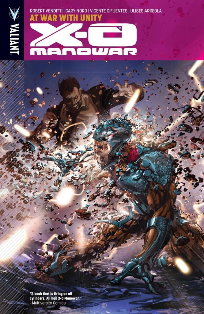 X-O Manowar: At War With Unity